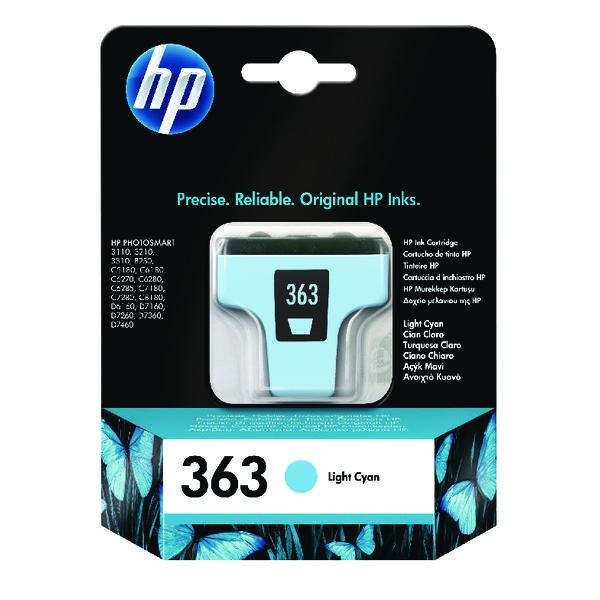 HP 363 Light Cyan Inkjet Cartridge C8774EE