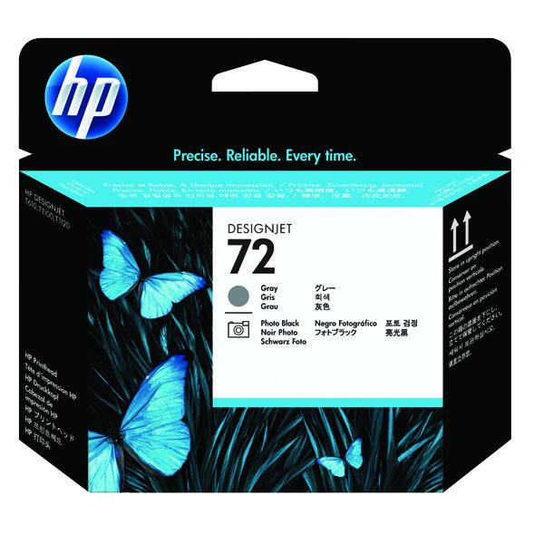 HP 72 Grey/Photo Black Printhead C9380A