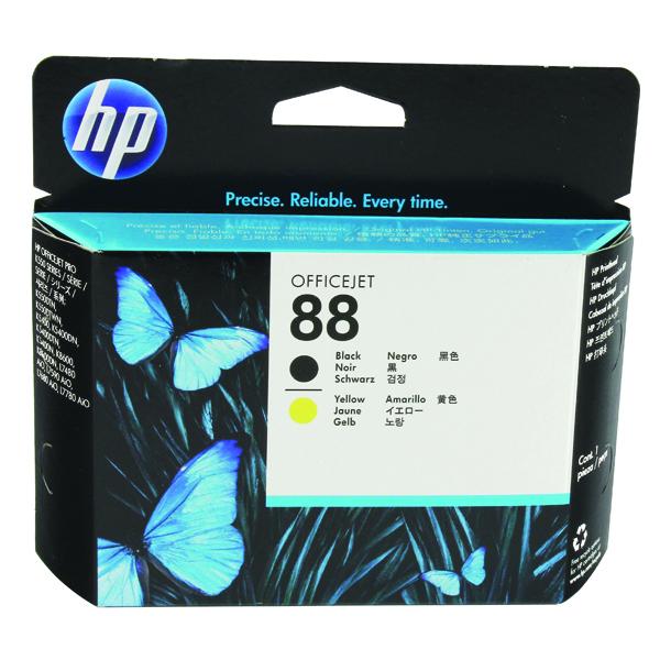 HP 88 Black /Yellow Printhead C9381A