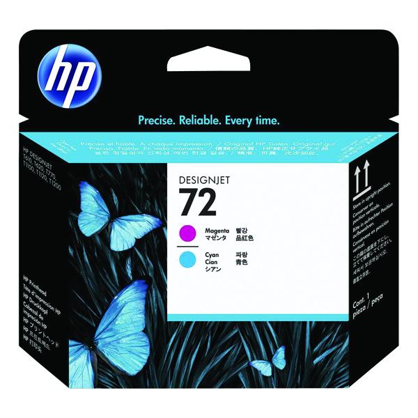 HP 72 Magenta/Cyan Printhead C9383A