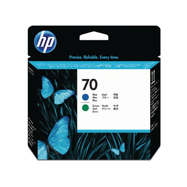 HP 70 Blue /Green Printhead Twin Pack C9408A