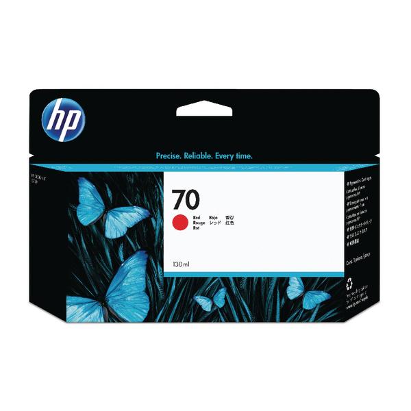 HP 70 Red Inkjet Cartridge C9456A