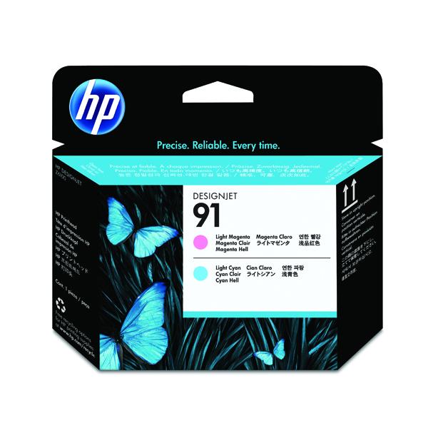 HP 91 Light Magenta/Light Cyan Printhead C9462A