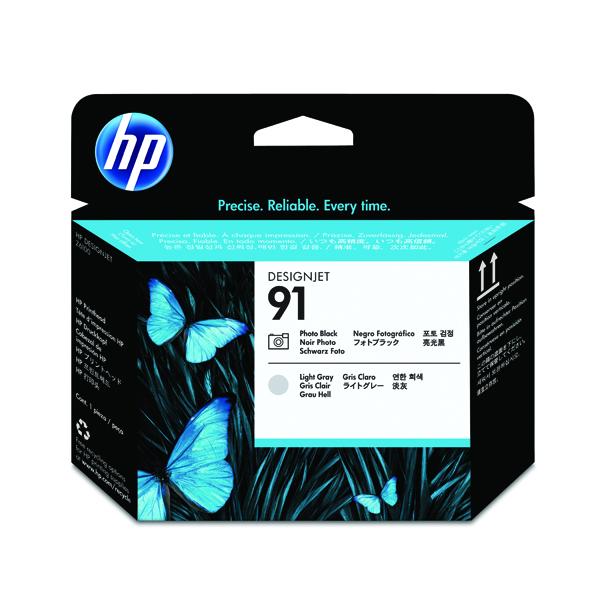 HP 91 Photo Black /Light Grey Printhead C9463A