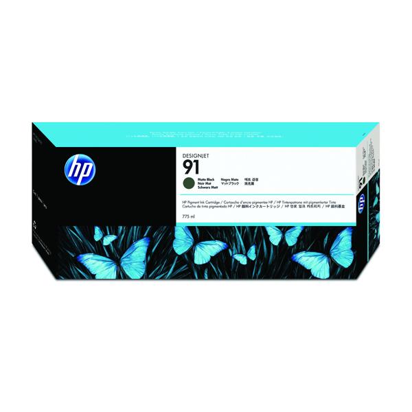 HP 91 Matte Black Inkjet Cartridge C9464A