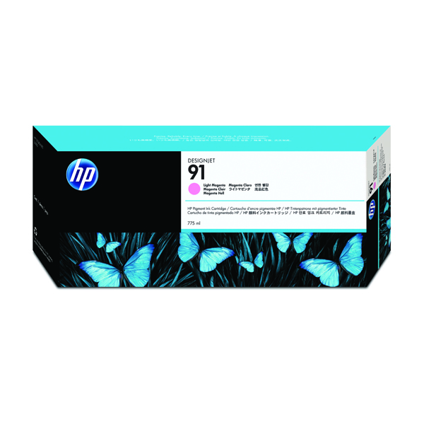 HP 91 Light Magenta Inkjet Cartridge C9471A