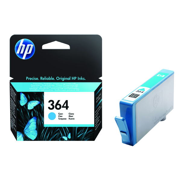 HP 364 Cyan Inkjet Cartridge CB318EE