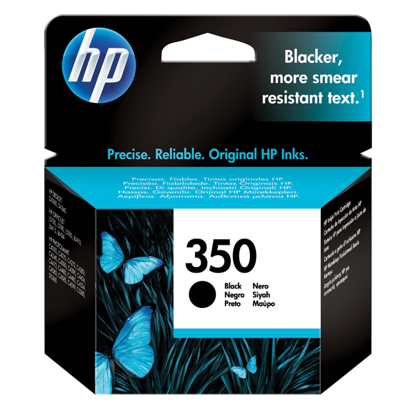 HP 350 Black Inkjet Cartridge CB335EE
