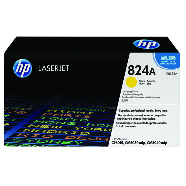 HP 824A Imaging Yellow Drum CB386A