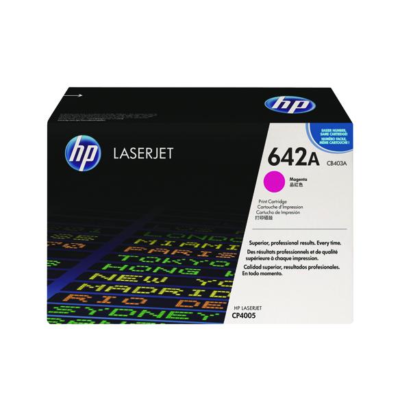 HP 642A Magenta Laserjet Toner Cartridge CB403A