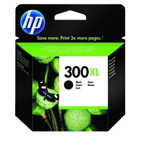 HP 300XL High Yield Black Inkjet Cartridge CC641EE