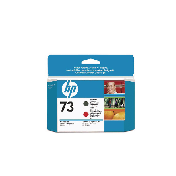 HP 73 Matte Black /Red Printhead CD949A