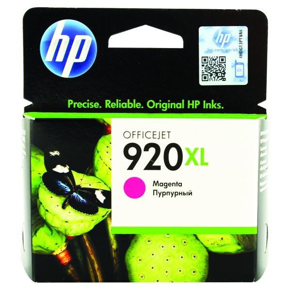 HP 920XL High Yield Magenta Ink Cartridge CD973AE
