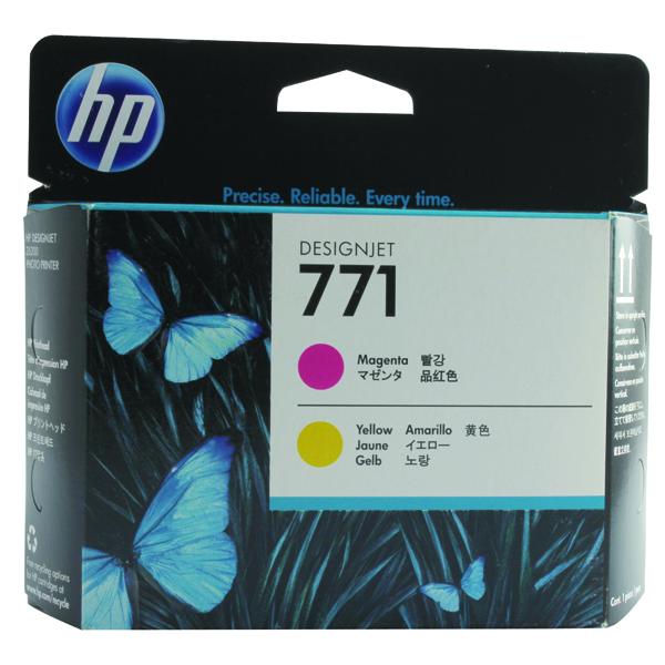 HP 771 Magenta/Yellow Designjet Printhead CE018A