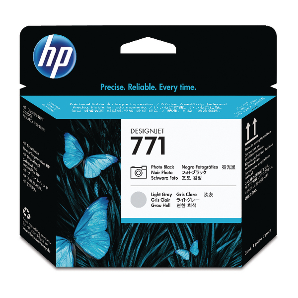 HP 771 Photo Black /Light Grey Designjet Printhead CE020A