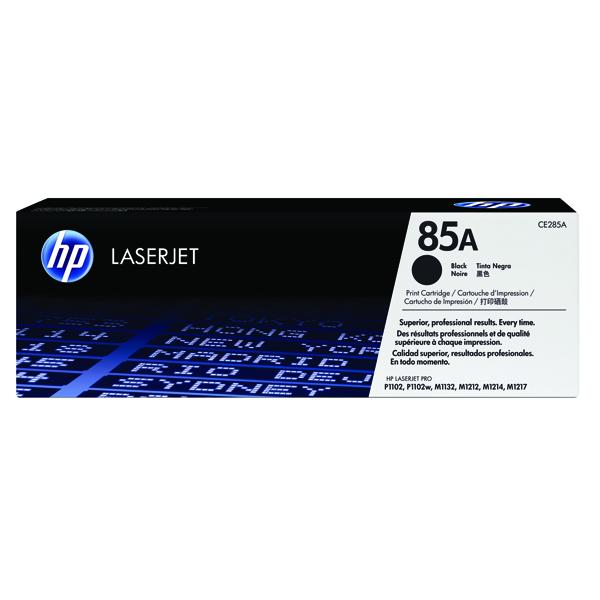 HP 85A Black Laserjet Toner Cartridge Ce285A