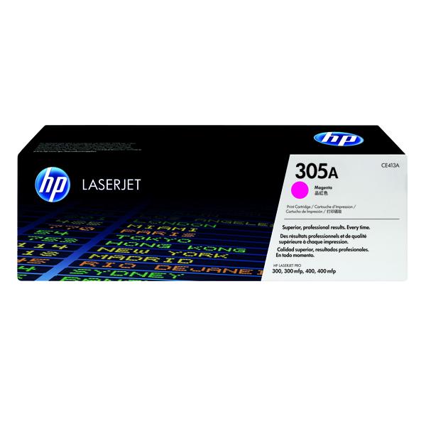 HP 305A Magenta Laserjet Toner Cartridge CE413A
