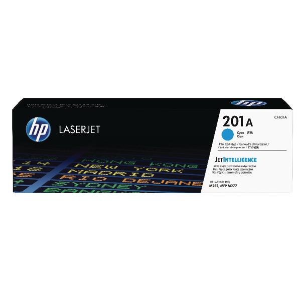 HP 201A Cyan Laserjet Toner Cartridge CF401A