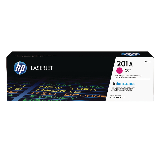 HP 201A Magenta Laserjet Toner Cartridge CF403A