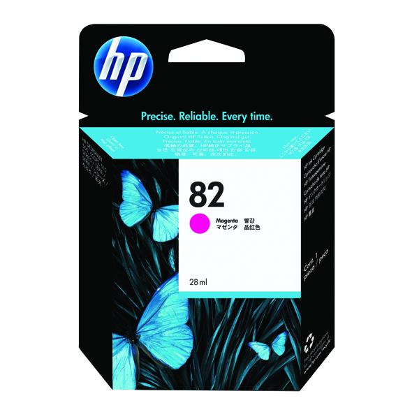 HP 82 Magenta Inkjet Cartridge CH567A