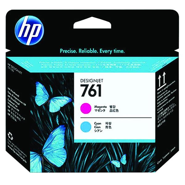 HP 761 Magenta/Cyan Printhead CH646A