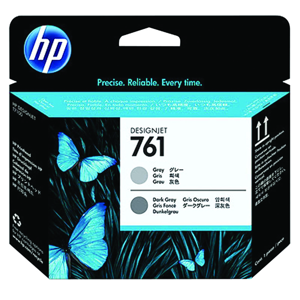 HP 761 Printhead Grey/Dark Grey CH647A