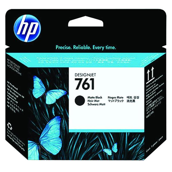 HP 761 Designjet Matte Black Printhead CH648A