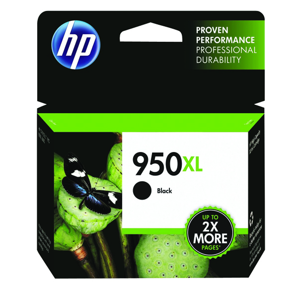 HP 950XL Black Officejet Inkjet Cartridge CN045AE