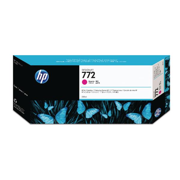 HP 772 Magenta Designjet Inkjet Cartridge CN629A