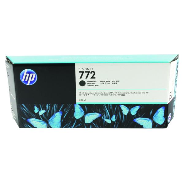 HP 772 Matte Black Designjet Inkjet Cartridge CN635A