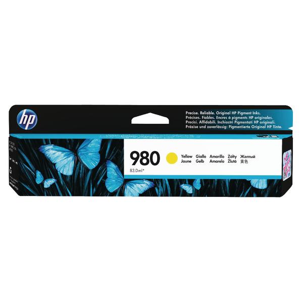 HP 980 Yellow Inkjet Cartridge D8J09A