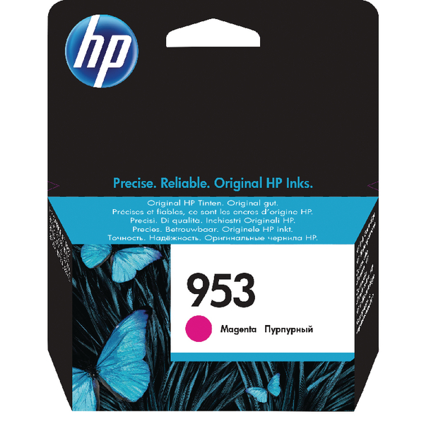 HP 953 Ink Magenta Cartridge F6U13AE