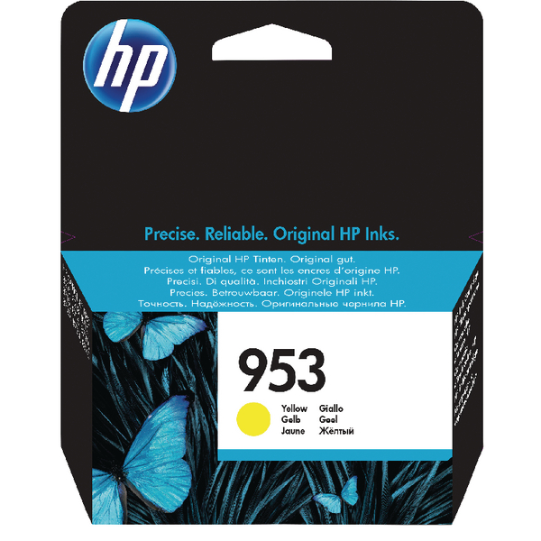 HP 953 Ink Yellow Cartridge F6U14AE