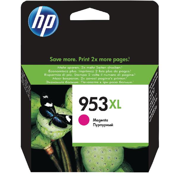 HP 953XL HY Ink Magenta Cartridge F6U17AE#BGX