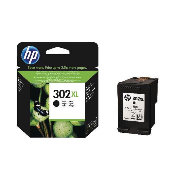 HP 302XL Black Ink Cartridge F6U68AE