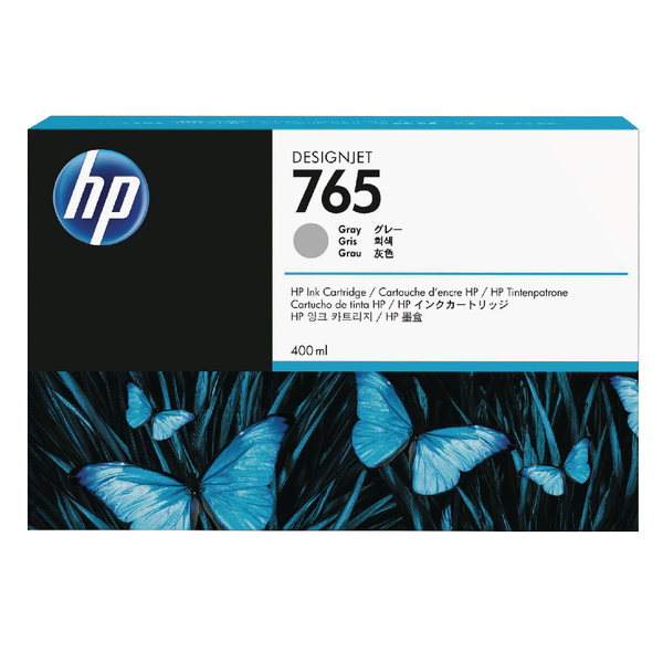 HP 765 Grey Original Ink Cartridge F9J53A