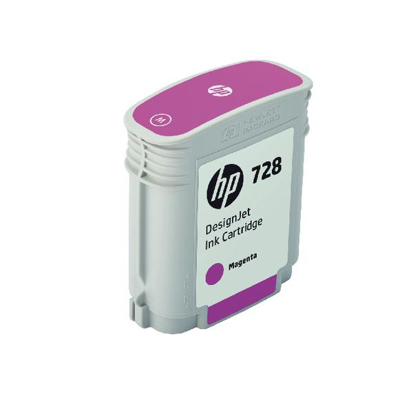 HP 728 DesignJet Ink Magenta Cartridge F9J62A