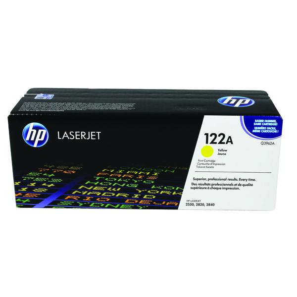 HP 122A Laserjet Yellow Toner Cartridge Q3962A