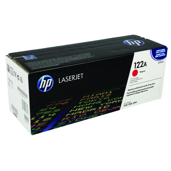 HP 122A Laserjet Magenta Toner Cartridge Q3963A