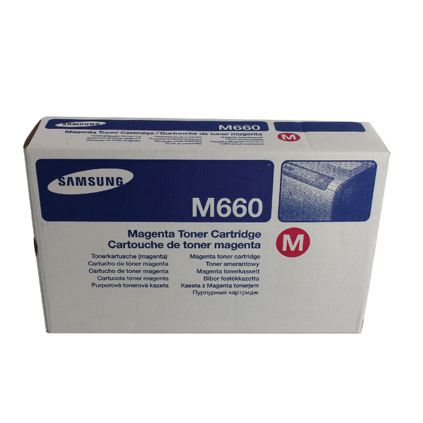 Samsung CLP-M660A Magenta Standard Yield Toner Cartridge ST919A