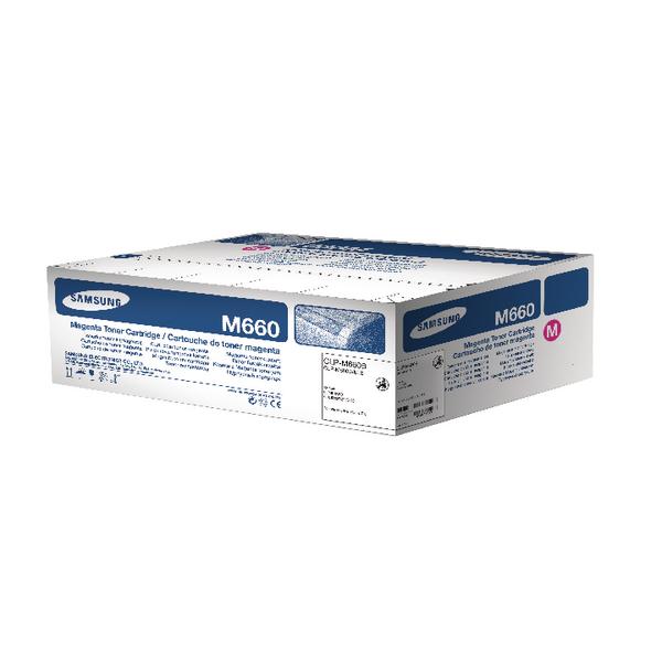 Samsung CLP-M660B Magenta High Yield Toner Cartridge ST924A