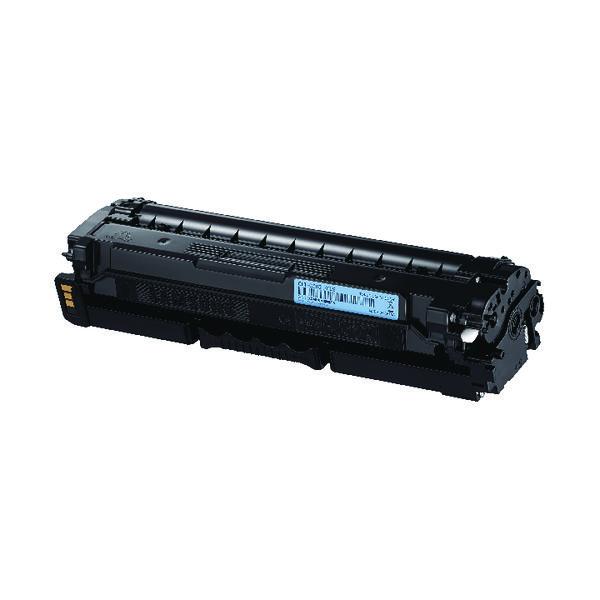 HP CLT-C503L High Yield Cyan Toner Cartridge SU014A