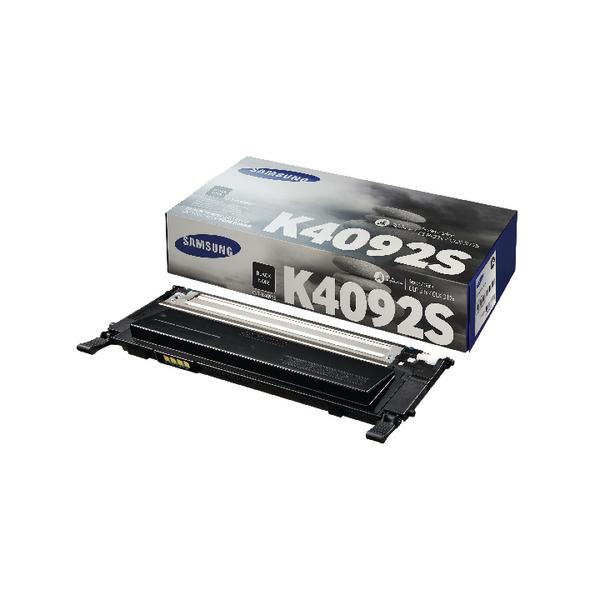 Samsung CLT-K4092S Black Standard Yield Toner Cartridge SU138A