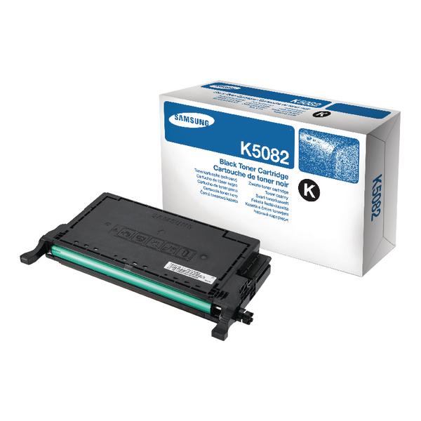 Samsung CLT-K5082S Black Standard Yield Toner Cartridge SU189A
