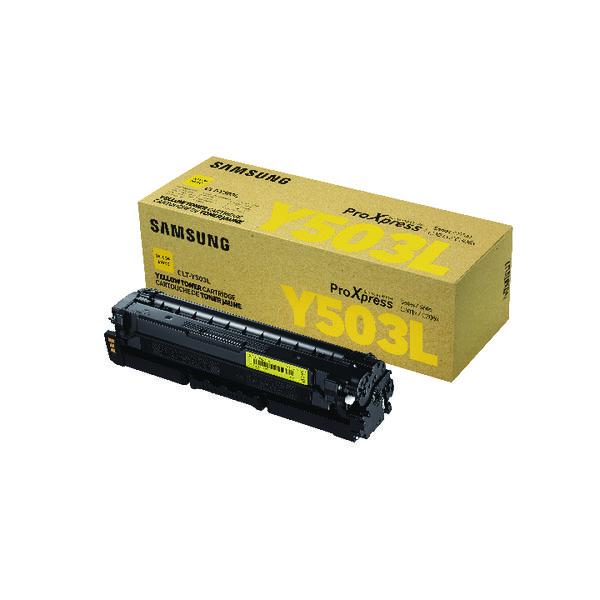 HP CLT-Y503L High Yield Yellow Toner Cartridge SU491A