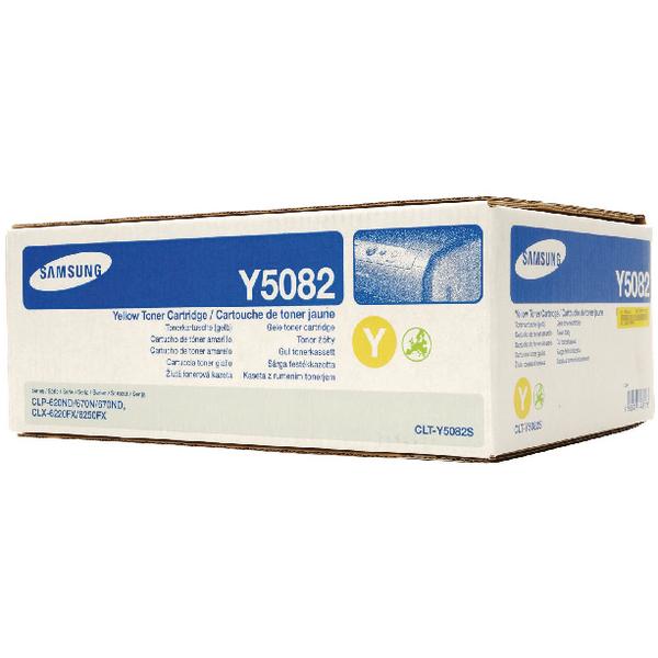 Samsung CLT-Y5082S Ylw low Standard Yield Toner Cartridge SU533A