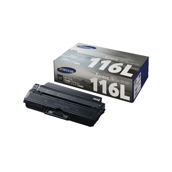 Samsung MLT-D116L Black High Yield Toner Cartridge SU828A