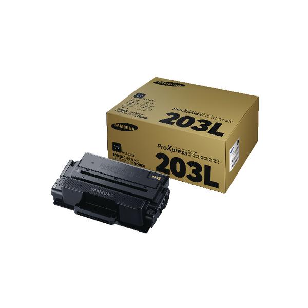 Samsung MLT-D203L Black High Yield Toner Cartridge SU897A