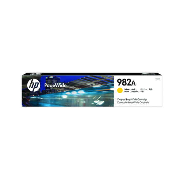 HP Original 982A Yellow PageWide Cartridge T0B25A