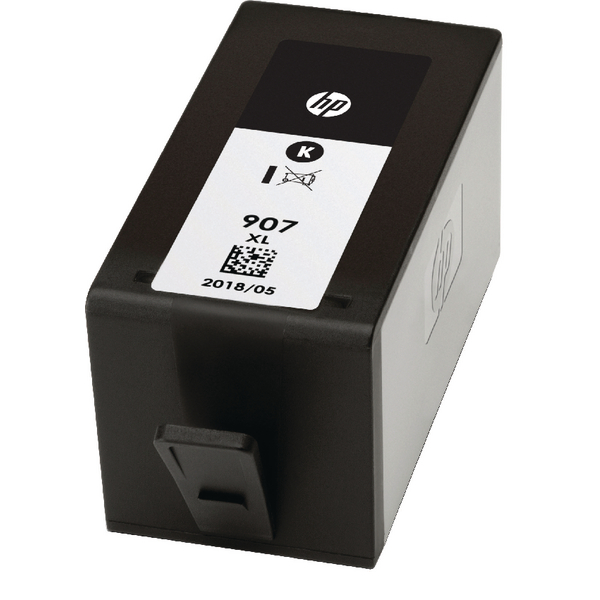 HP 907XL Extra High Yield Black Ink Cartridge T6M19AE